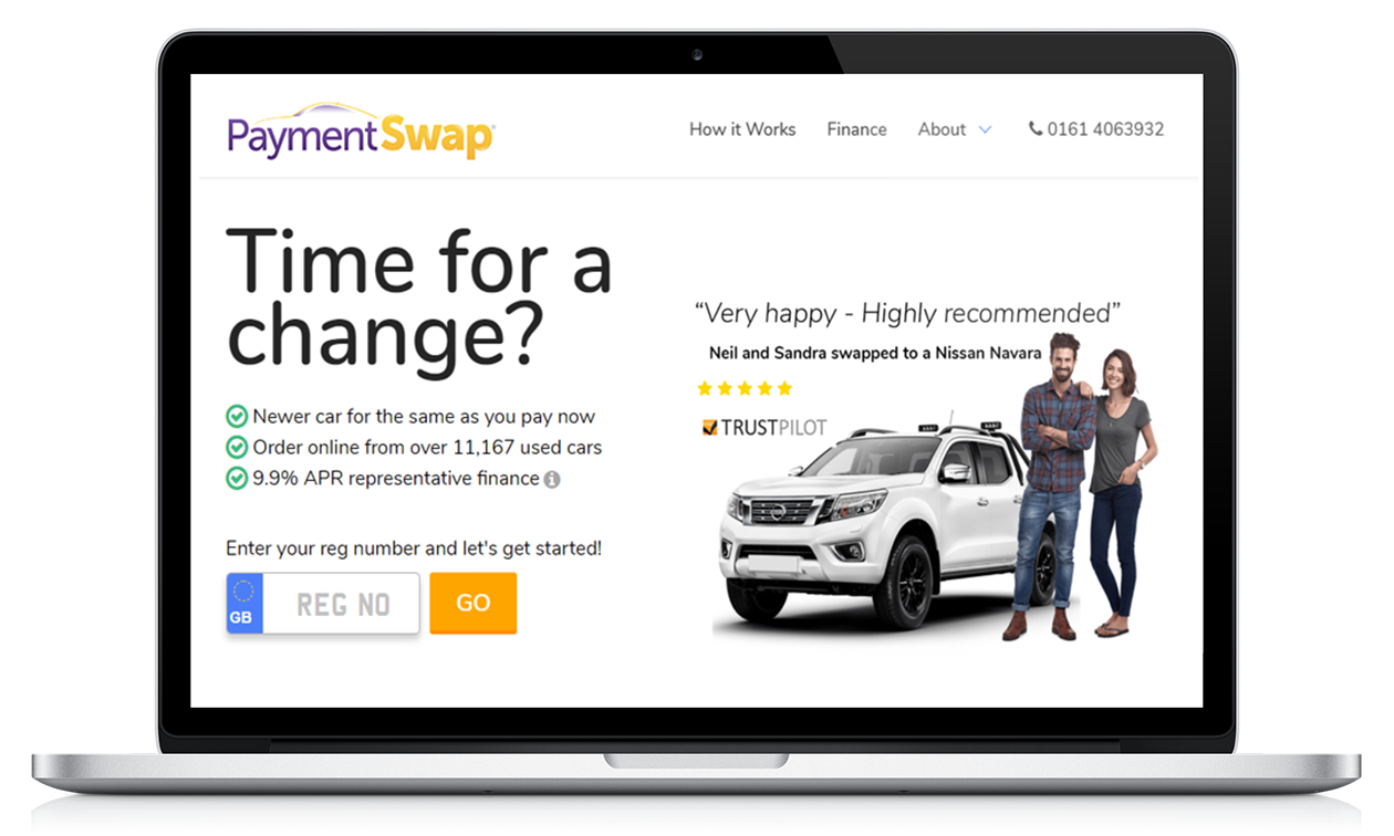 One of our websites - Payment Swap